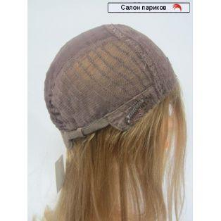 длинный натуральный парик без челки Sofia (цвет волос пшеничный светло-русый)