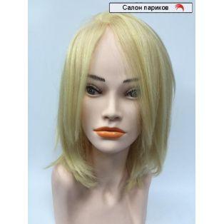 парик без челки из натуральных волос Jane Mono (блондинка)