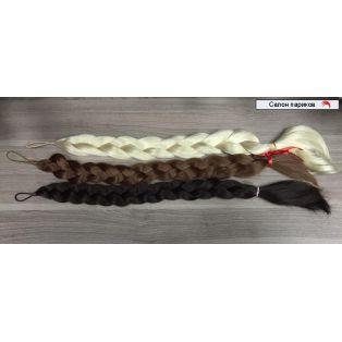 Накладная Коса из искусственных волос