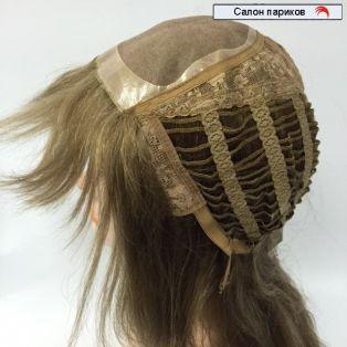 натуральный парик из славянских волос 100012 Mono (русый)