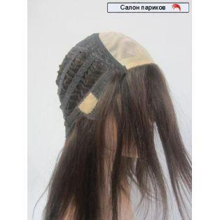 натуральный парик без челки 100104 Mono (цвет волос каштановый)