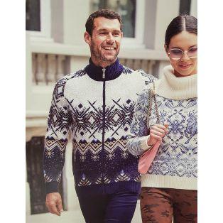 Женский свитер с оленями 140-08