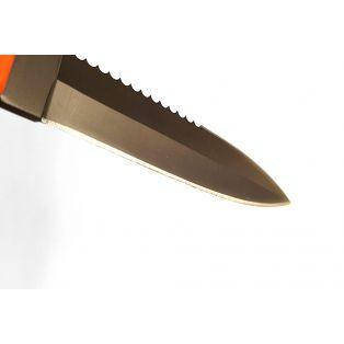 Охотничий нож Boyard-1, серрейтор, длина лезвия 11 см