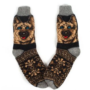 Классические мужские носки для зимы