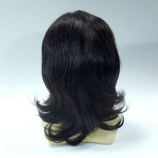 Парик из натуральных волос ручной работы MONO-701 # 4