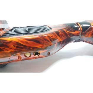 "Гироскутер Smart APP 6,5"" самобаланс пламя"