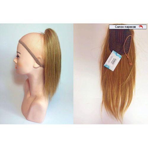 Шиньон из натуральных волос на гребне