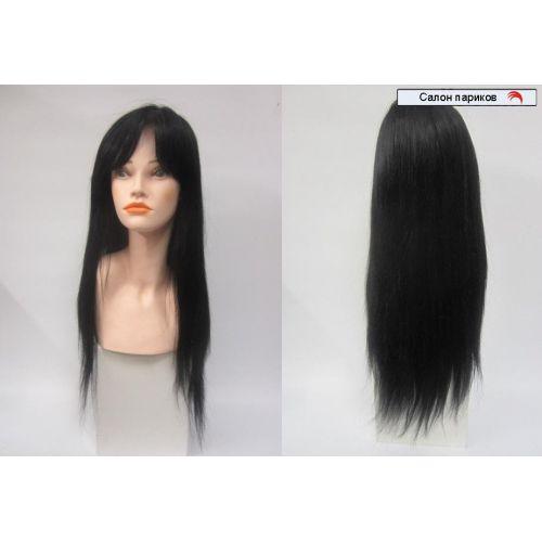 Парик из натуральных волос 100101 super Mono (черный)