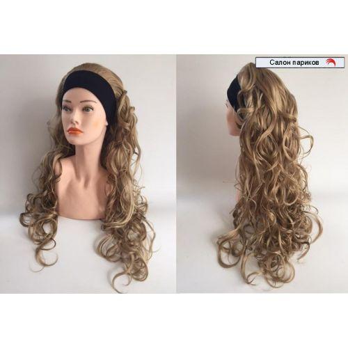 парик на повязке искусственный 9426