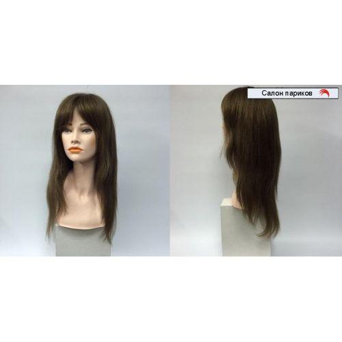 длинный натуральный парик 100010 Mono (русый)