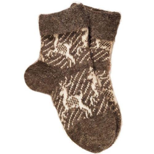 Носки унисекс, натуральная шерсть, размер 37-43