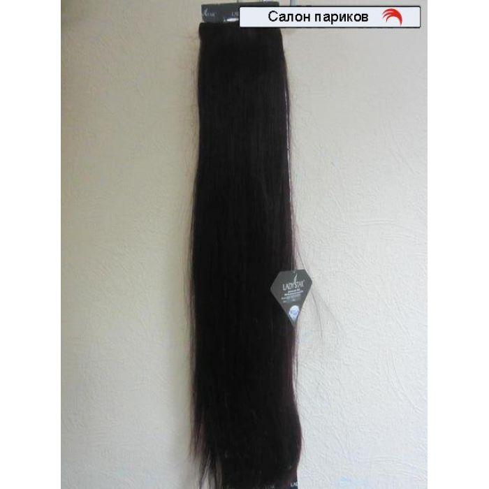 Натуральные волосы на заколках Brasilian