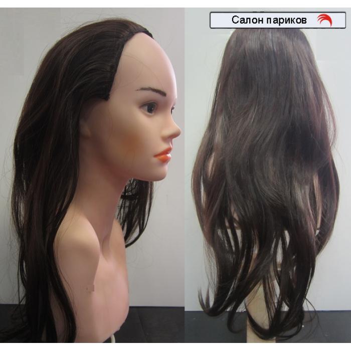 Накладная затылочная прядь (прямые волосы)