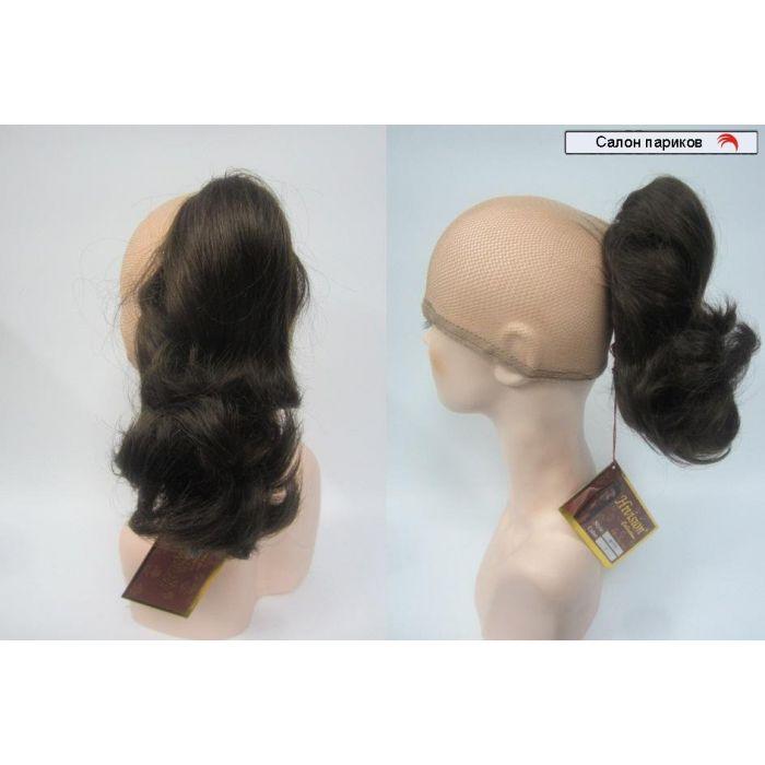 Хвост на крабе из натуральных волос р 703