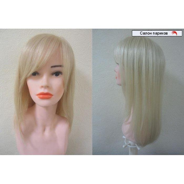 длинный парик из натуральных волос НМ 131