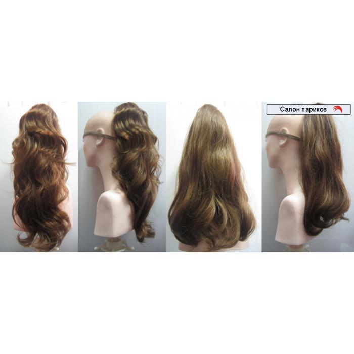 Хвост на крабе из натуральных волос