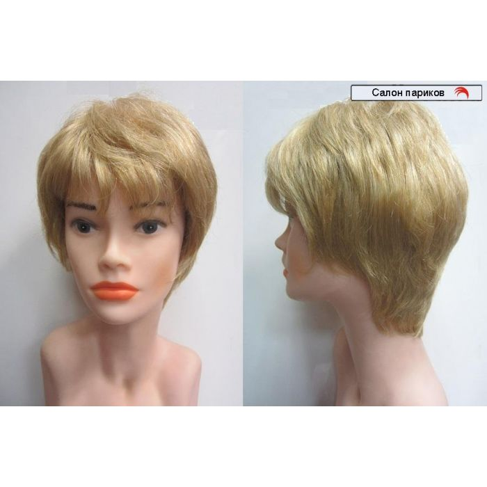 парик искусственный с моно сеткой - имитацией кожи головы Zizi Mono