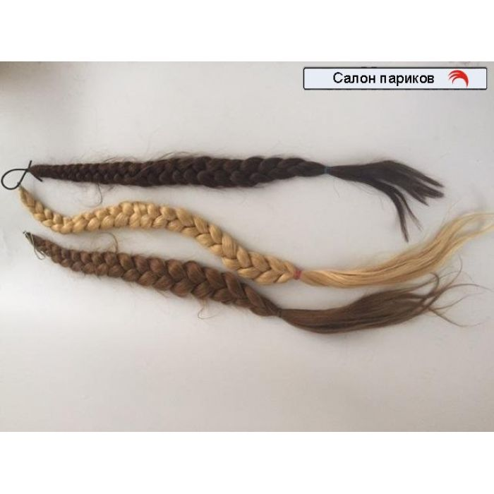 Коса из натуральных волос