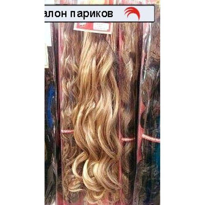 Волосы на заколках искусственные. Две пряди 955