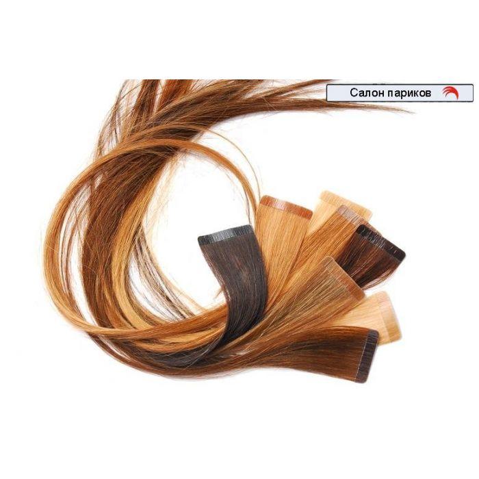 ленточное наращивание волос 40 прядей