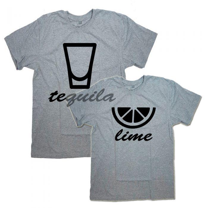 """Парные футболки """"Текила&Лайм"""""""