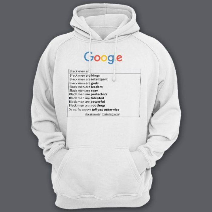 """Прикольные толстовки с капюшоном с надписью """"Google"""""""