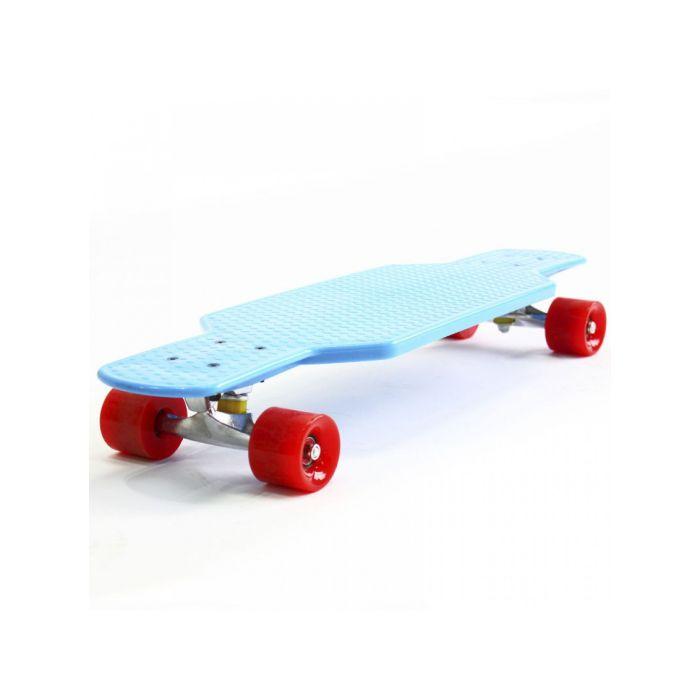 Пенни борд Hubster Cruiser 29 синий с красными колесами