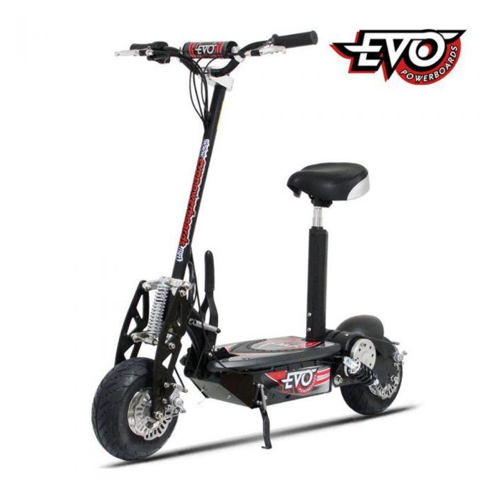 Электросамокат Evo E-1000 черный