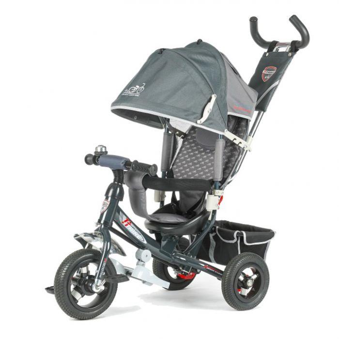 Трехколесный велосипед TechTeam 950D-AT (серый)