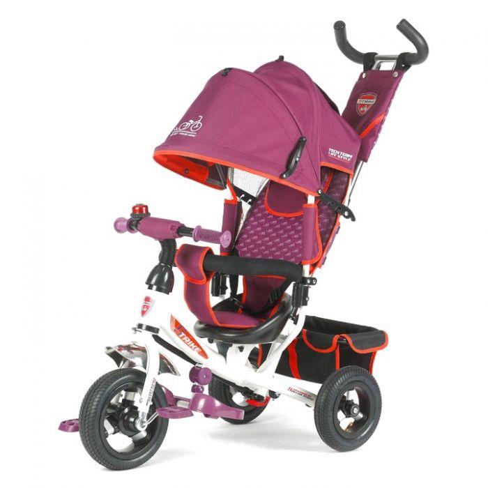 Трехколесный велосипед TechTeam 950D-AT (фиолетовый)
