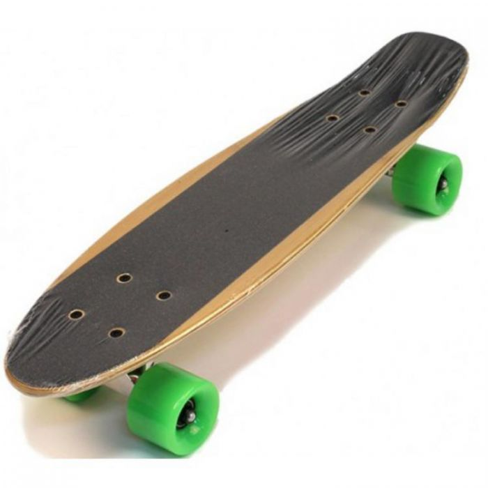Скейт борд Shark TLS-2206 деревянный, черный