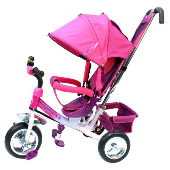 Детский велосипед F 300 розовый