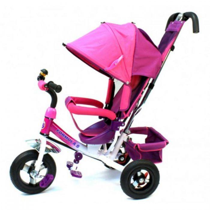 Детский велосипед F 500 розовый