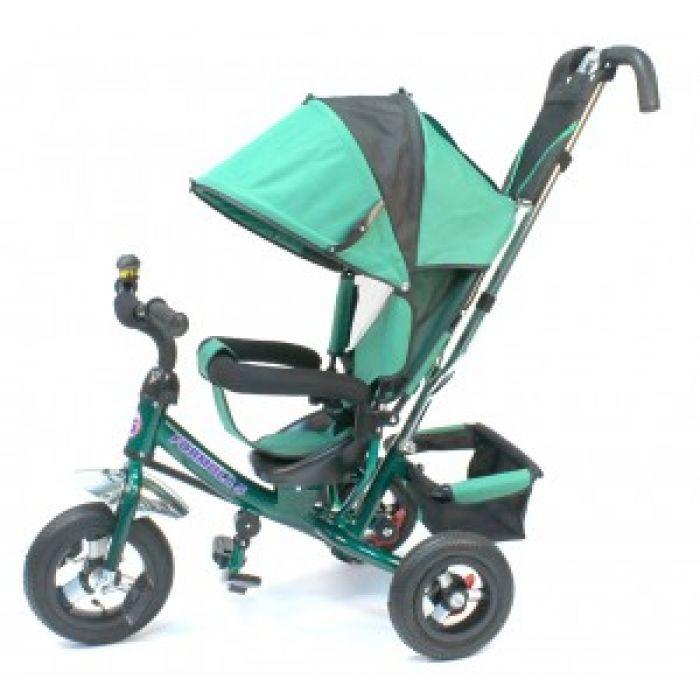 Детский велосипед F 500 зеленый