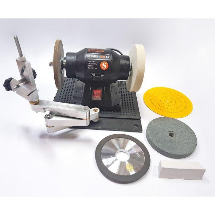 Sharp BM-15 - станок для заточки ножниц и ножей с манипулятором