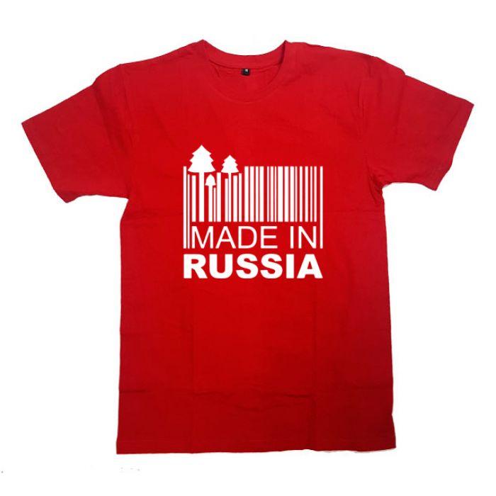 """Футболка Я Русский с принтом """"Сделано в России"""""""