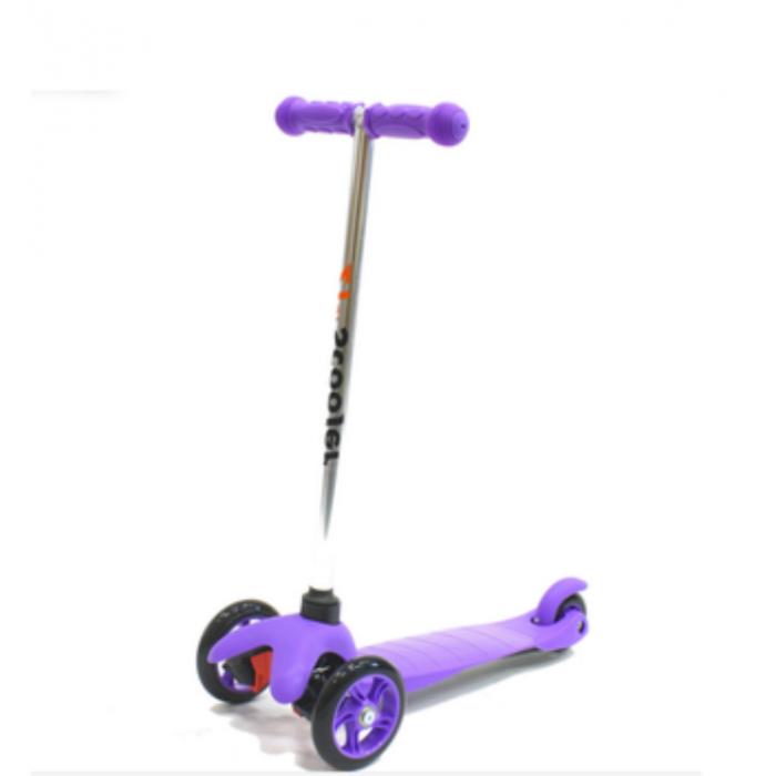 Самокат 21st Scooter SKL-06 AL, цвет фиолетовый