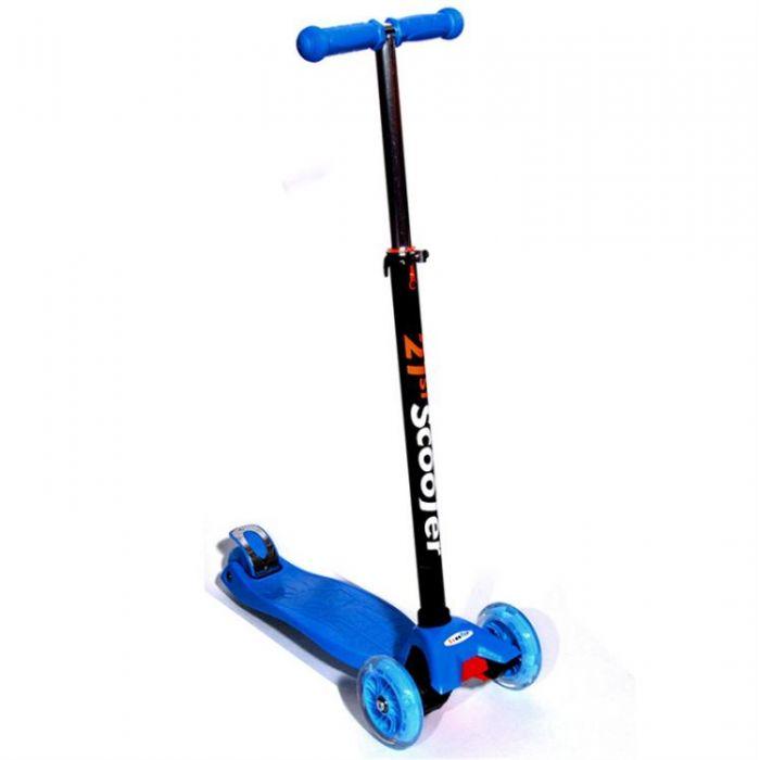 Самокат 21st Scooter SKL-07 maxi, цвет синий