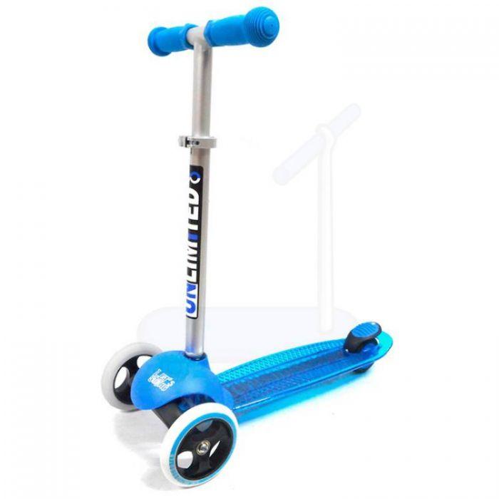 Самокат Unlimited MS05 синий