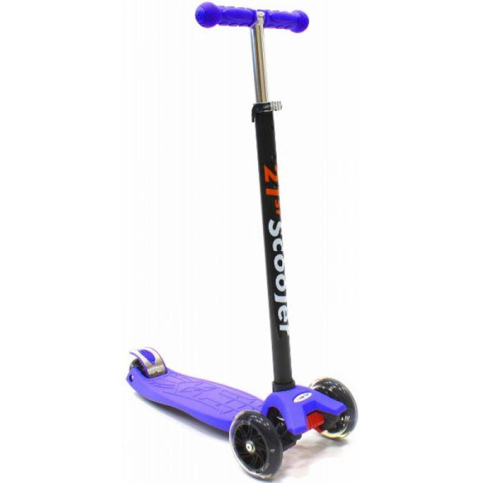 Самокат 21st Scooter SKL-07 maxi, цвет фиолетовый