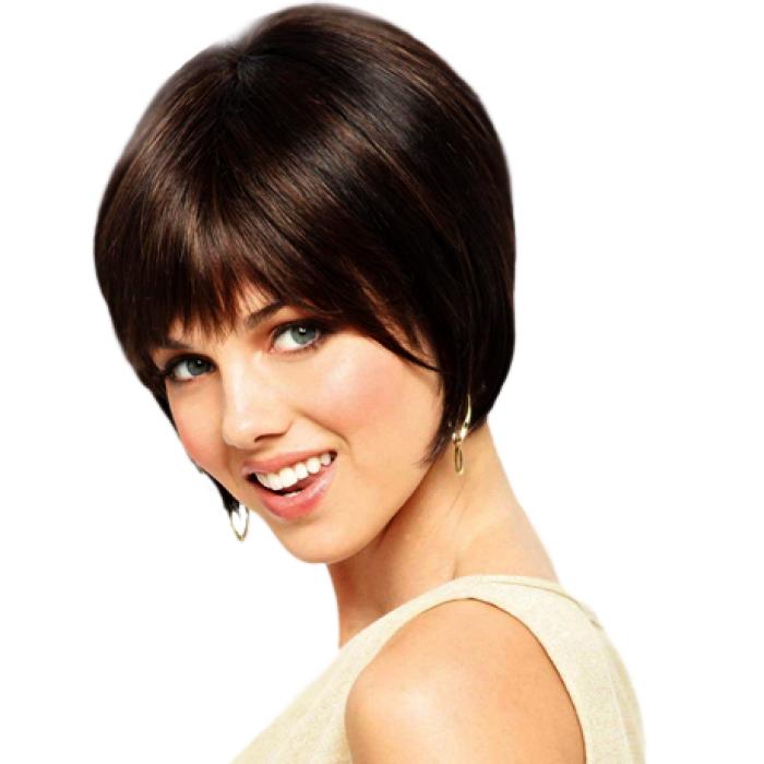 Недорогие парики из натуральных волос
