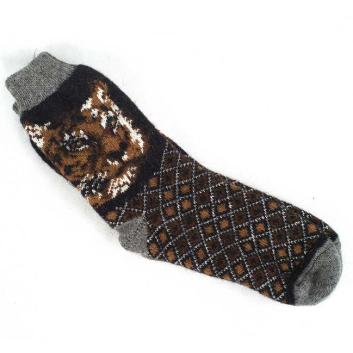 Удобные и недорогие зимние носки с рысью