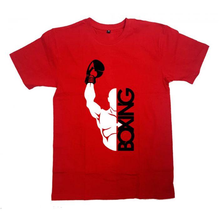 """Футболка для боксеров с принтом и надписью """"Boxing(4)"""""""