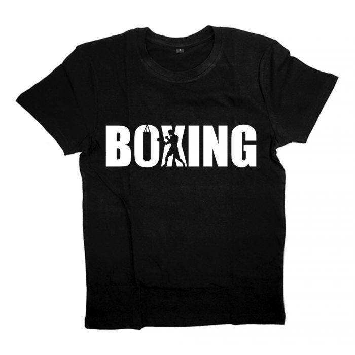"""Футболка для боксеров с принтом """"Boxing"""""""