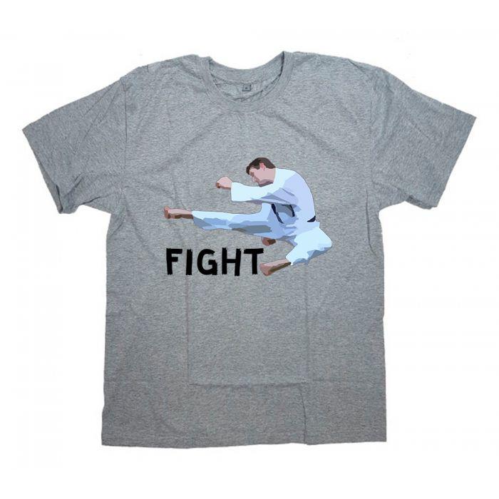 """Футболка для боксеров с принтом """"Fight"""""""