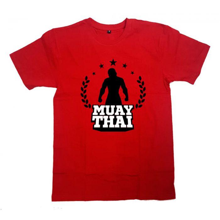 """Футболка для боксеров с принтом """"Muai Thai star"""""""