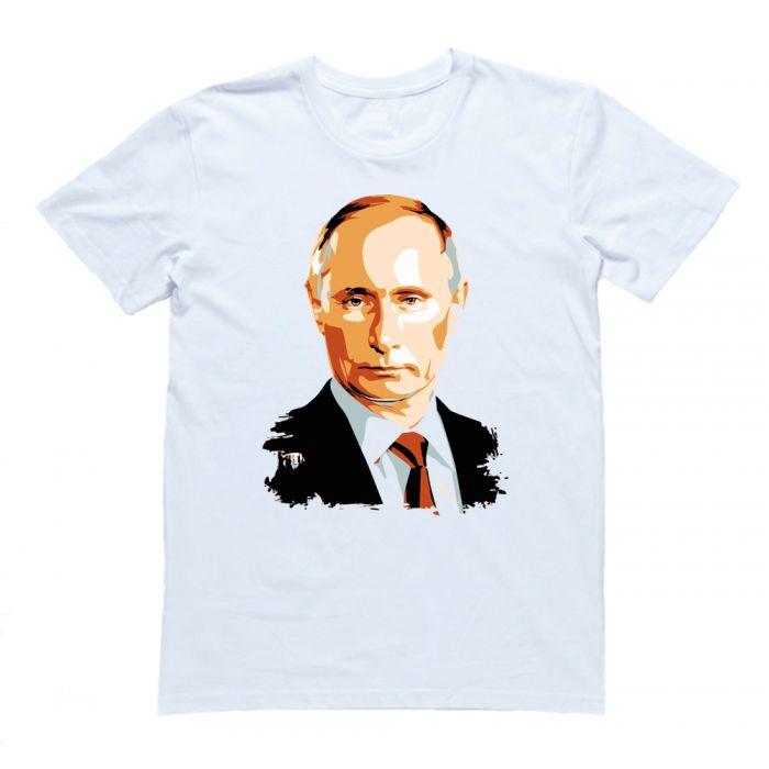 """Футболка Я Русский с принтом """"Путин"""""""