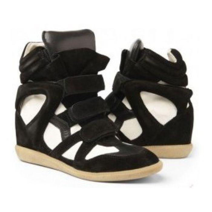 Кроссовки-сникерсы Isabel Marant Black White