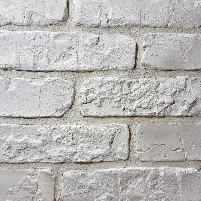 Шамотный белый искусственный камень