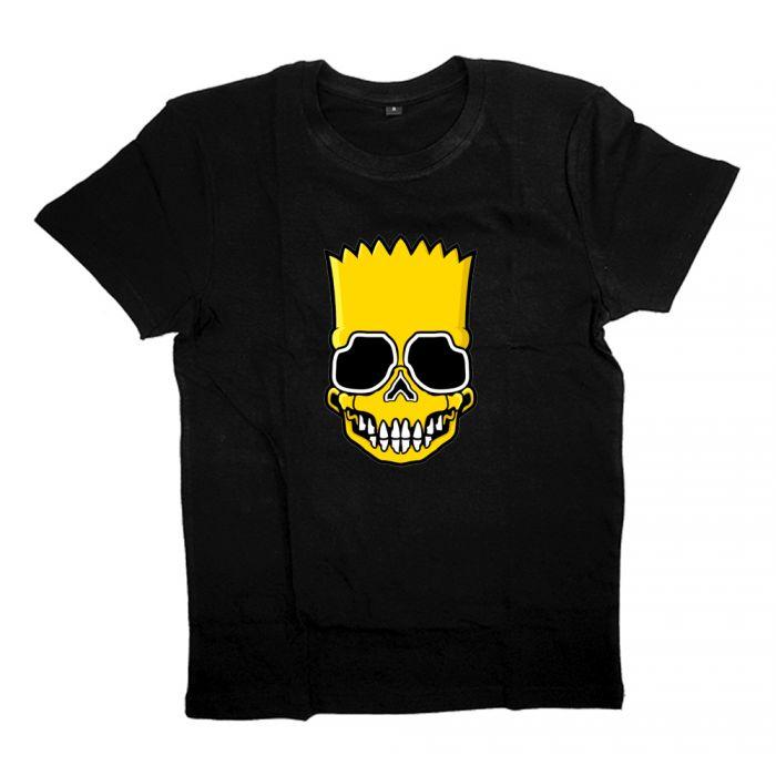 "Футболка с Бартом Симпсоном ""Skull Bart"""